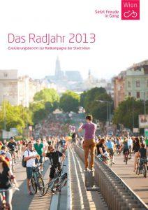 Titelbild des Evaluierungsberichts zum RadJahr 2013