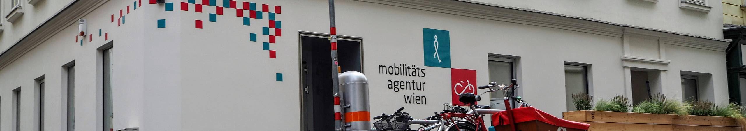 Das Büro der Mobilitätsagentur in der großen Sperlgasse im 2. Bezirk.