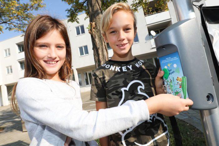 20 Schulen aus Simmering und der Donaustadt waren 2018 beim Beim Bewegungsspiel