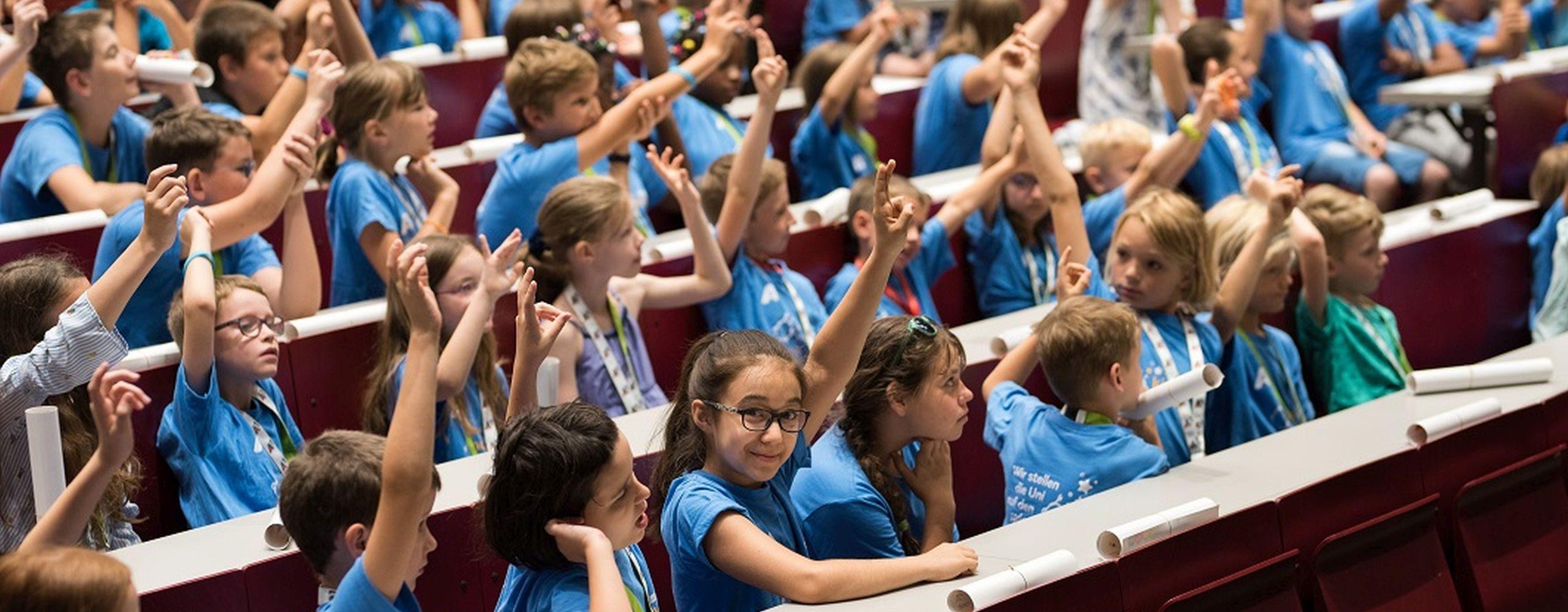 KinderUni © Kinderbüro der Universität Wien / Phillip Lichtenegger